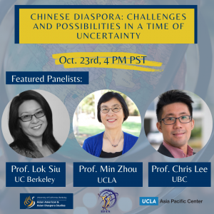 Chinese Diaspora: Challenges and Possibilities in a Time of Uncertainty
