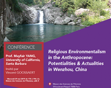 Religious Environmentalism in the Anthropocene: Potentialities & Actualities in Wenzhou, China