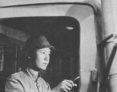 Woman Truck Driver in Japan (Home front during World War II)