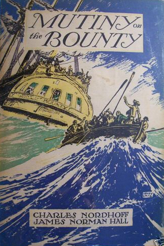 Cover of 'Mutiny on the Bounty' by Charles Nordhoff and James Norman Hall (1932)