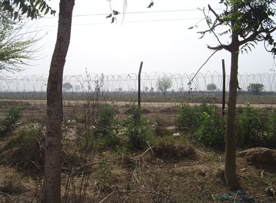 Only the boundary fence has been constructed at the Reliance-Haryana SEZ in Gurgaon, notified since 2007.
